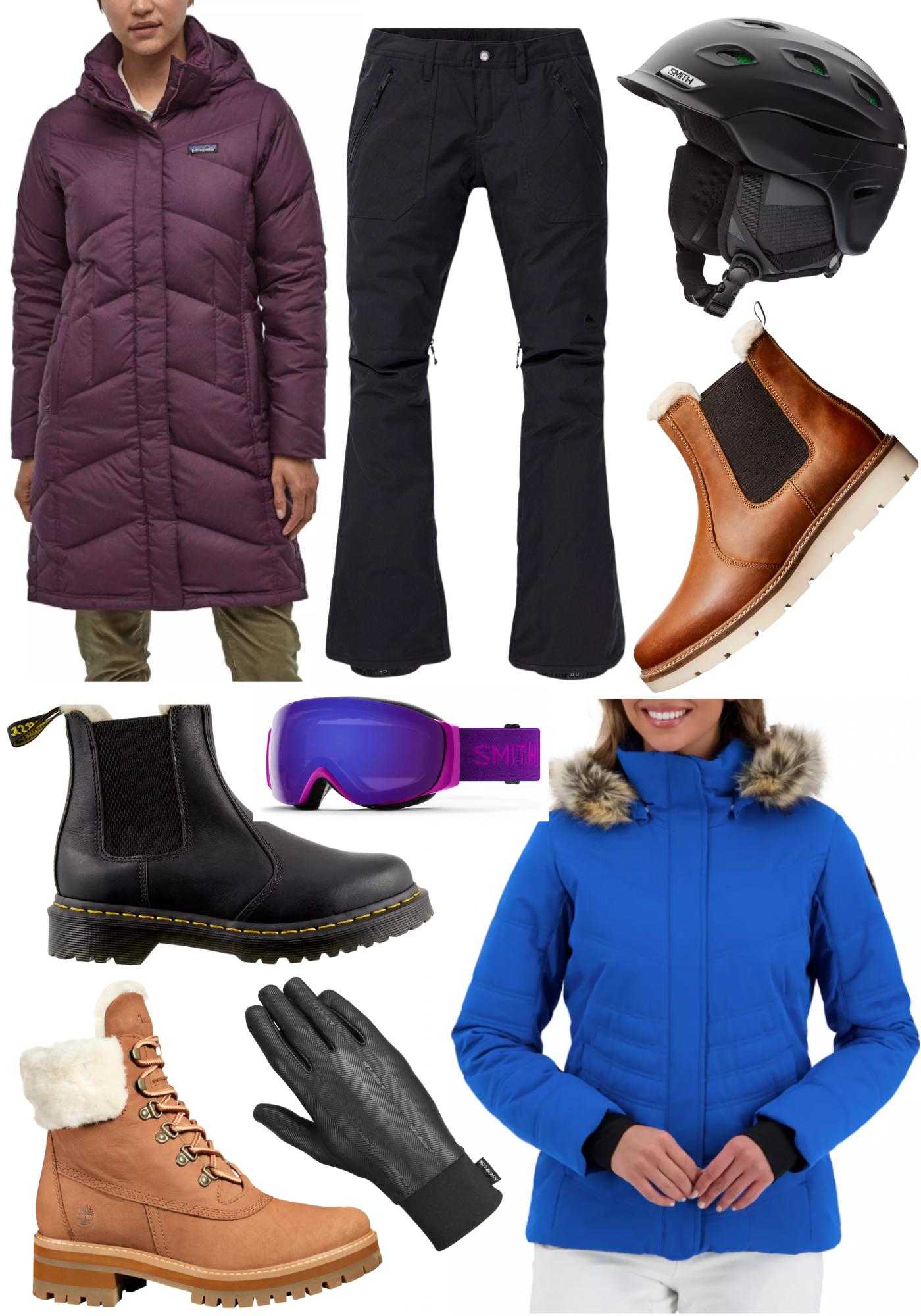 Dicks sporting goods winter brands collage