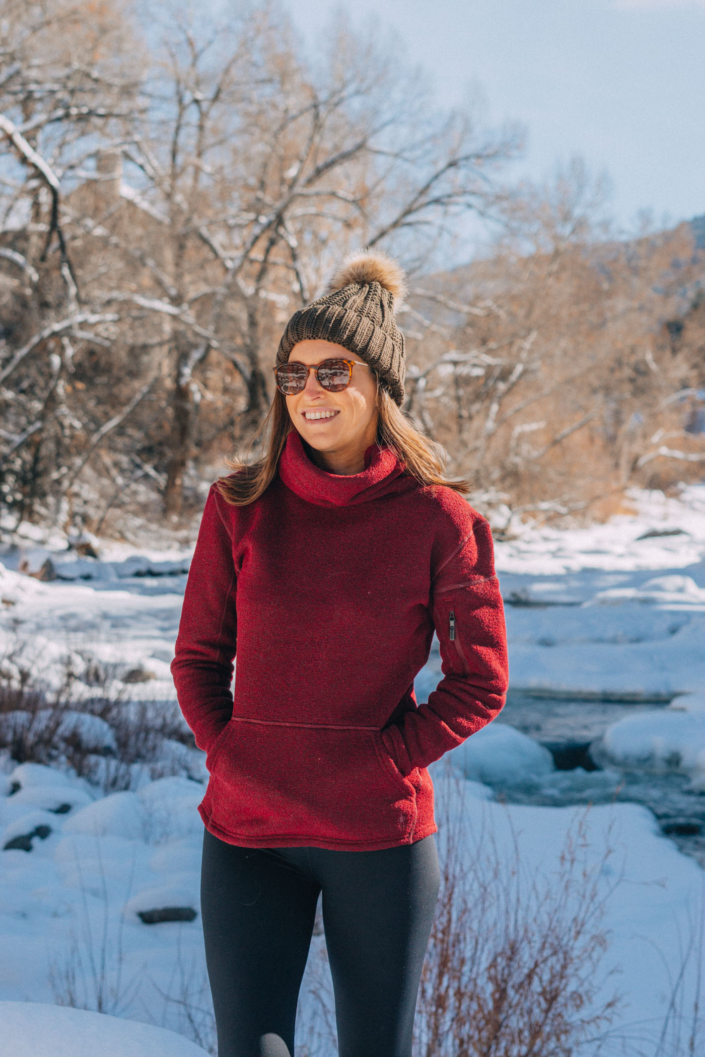 Go-to Winter Style: Cozy Pullover