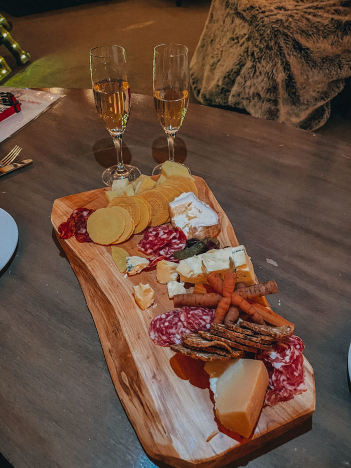 Private Yurt at Grand Hyatt Vail with Cheese Plate and Champagne