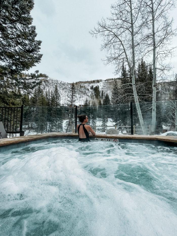 Grand Hyatt Vail Hot Tub