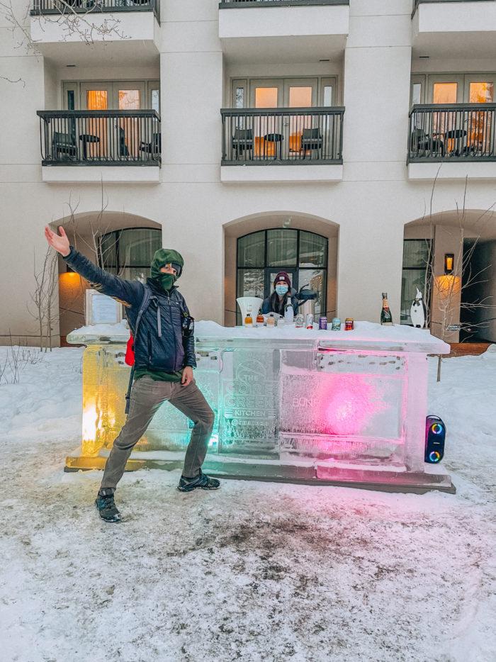 Ice Bar at Grand Hyatt Vail