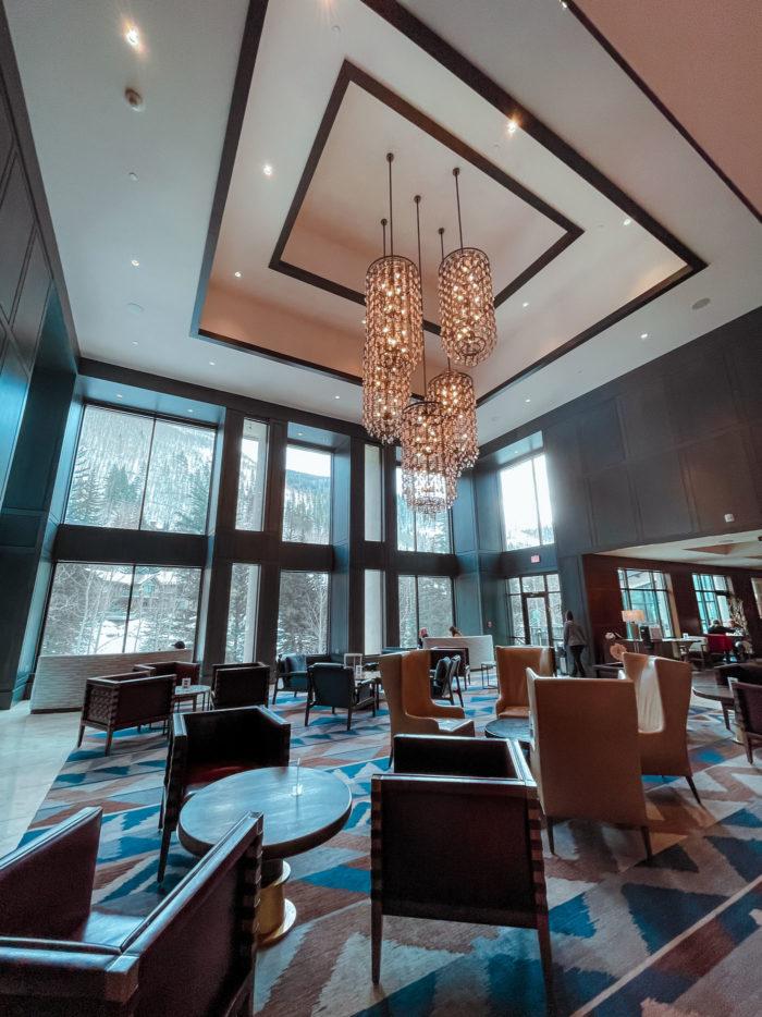Grand Hyatt Vail Living Room