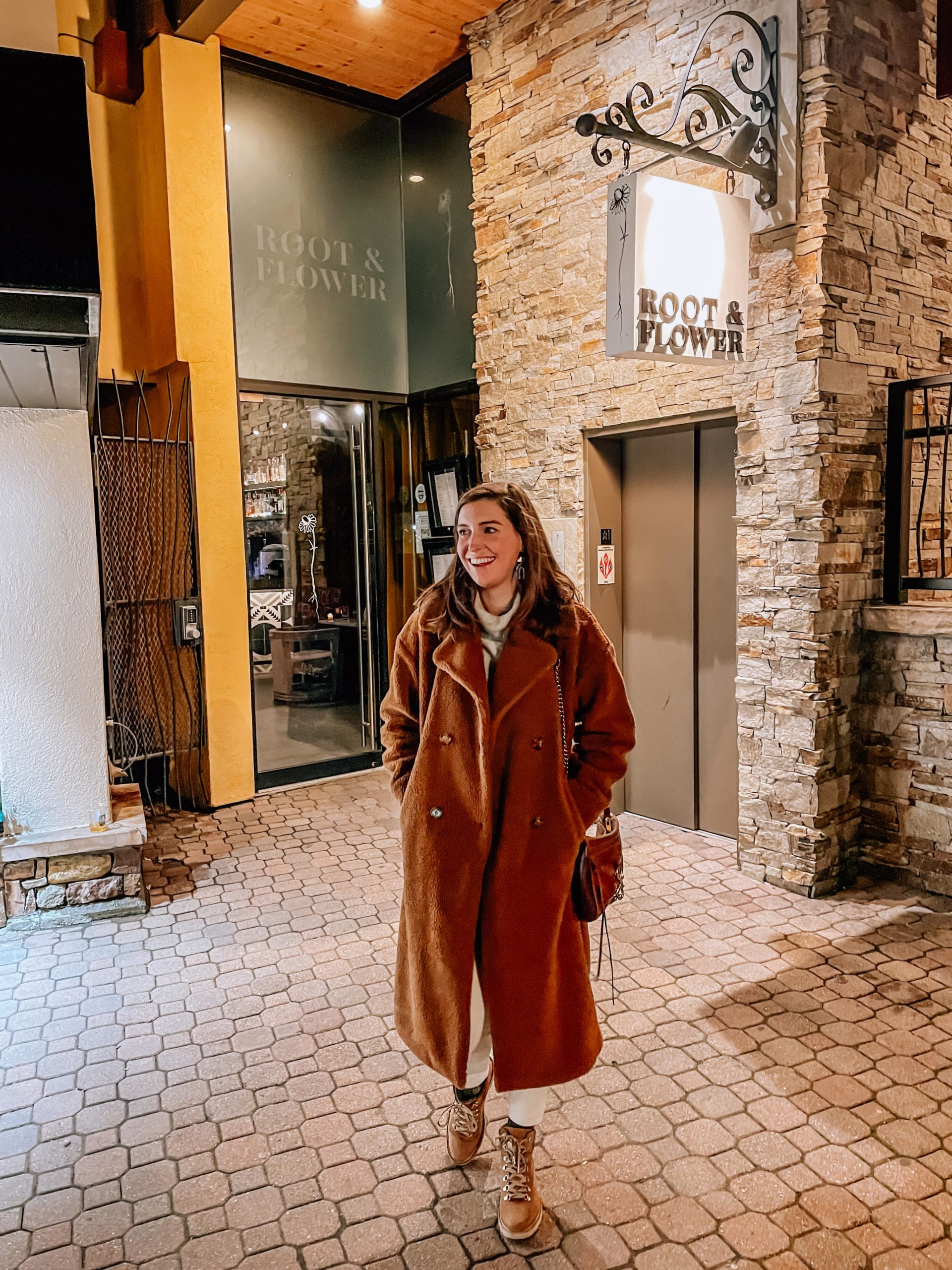 Winter Staple: The Long Teddy Coat