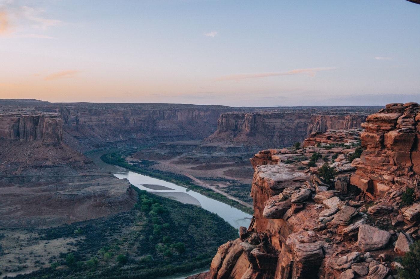 Green River Overlook Moab Utah