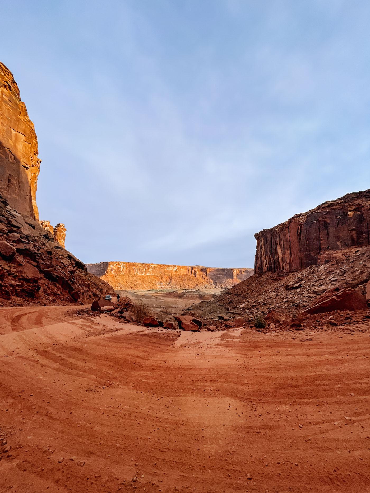 White Rim Road, Green River, Moab, Utah