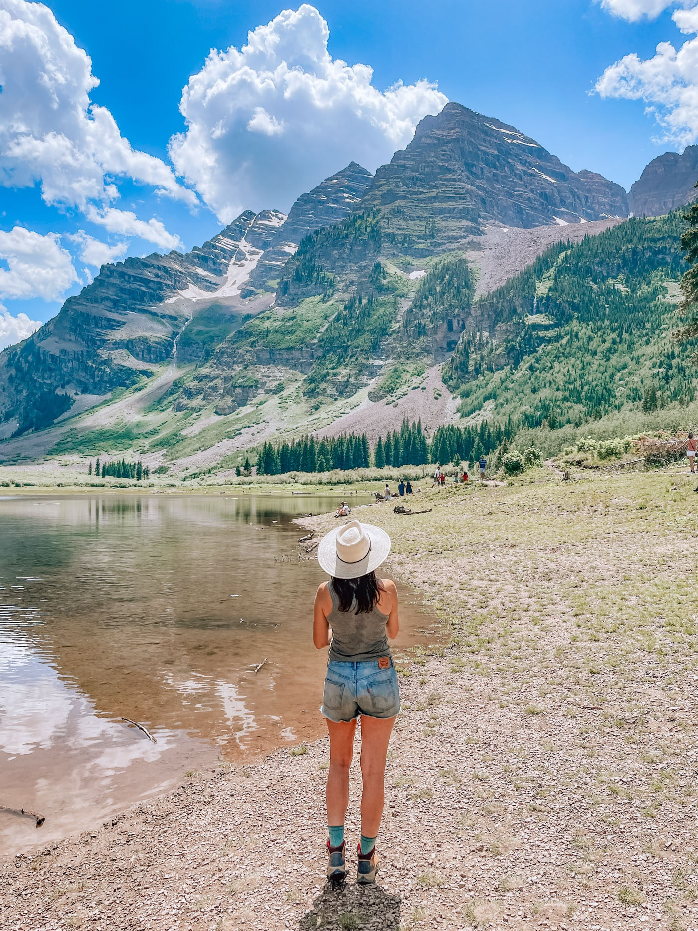 Visiting The Maroon Bells CO