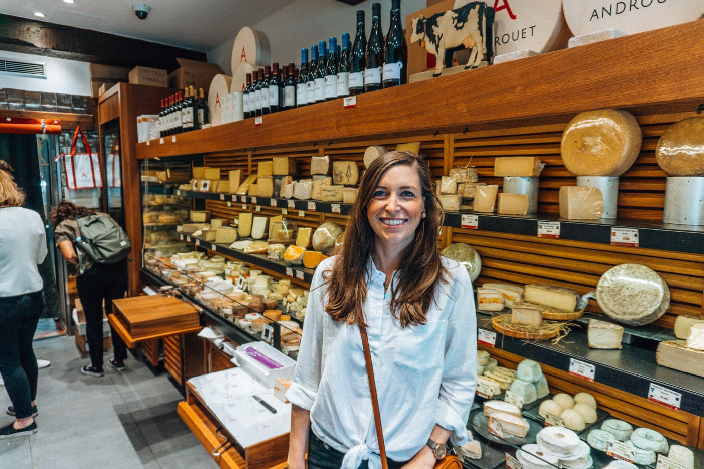 Blue Mountain Belle in the oldest cheese shop in paris