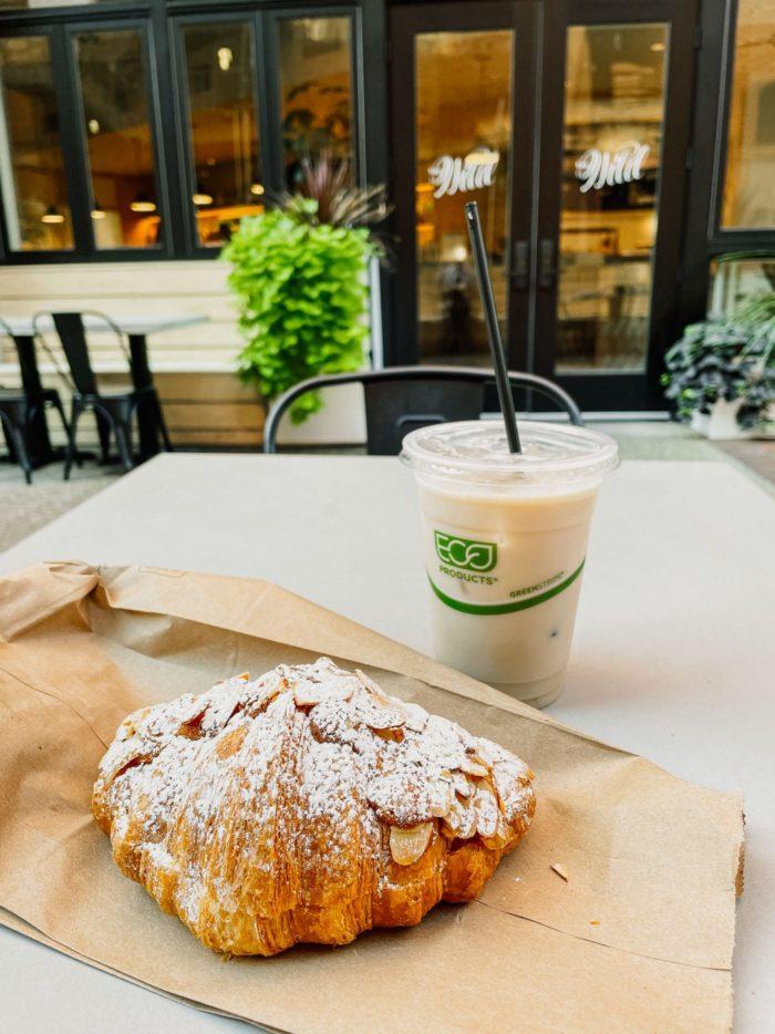 The Wild Denver, Chai & Blueberry Croissant