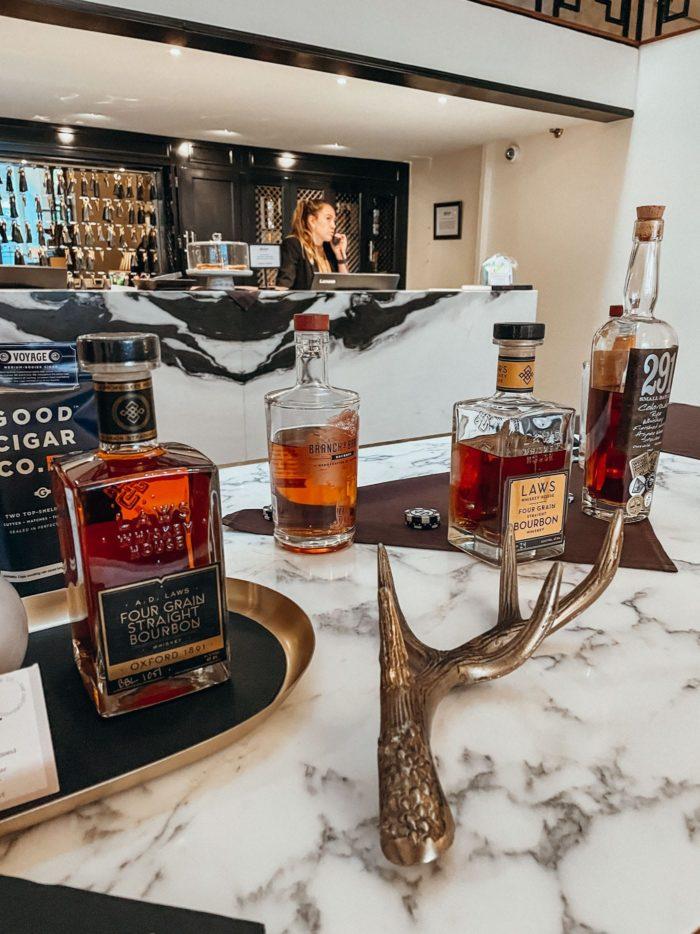 Bourbon Tasting at The Oxford Denver
